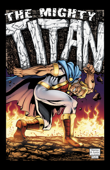 The Mighty Titan! Steranko Style! by jgmcomics