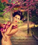 Cherry Blossom Fae by TinaLouiseUk