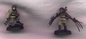 Halo miniatures 1 of 3 by turelhimvampire