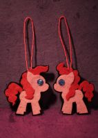Pinkie Pie christmas ornament by RichterA