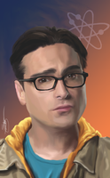 The Big Bang Theory - Leonard by ArchXAngel20