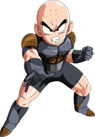 Krillin (Frieza Saga)  MLL Redesign by OWC478
