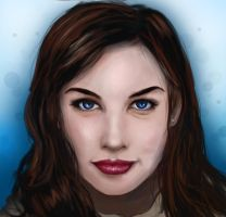 Liv Tyler Portrait by loginatu