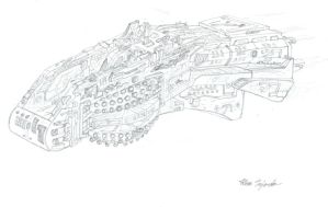 Blague-Class Battleship by Sp3ctre18