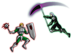 Sprite Sunday - William vs. Faust by Dualmask