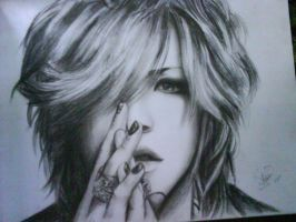 ruki the gazette by kujinihayashi