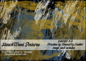 BeachWood Texture Brushes PS by Bound-By-Leather