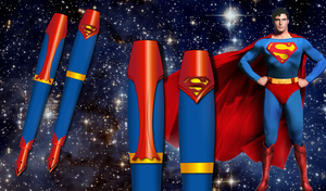 Superman Pen by Bebecca