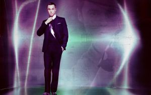 Jim parsons wallpaper by HappinessIsMusic