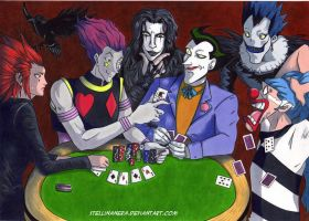 Poker Joker Wild by stellinanera
