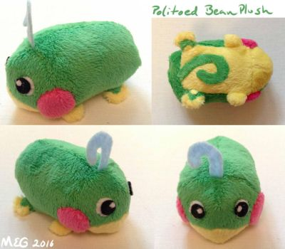 Politoed Stackable Beanie Plush by sorjei