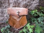 Eagle Dryad Leather purse by DragonstoolLeather