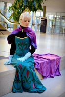 Queen Elsa by IllumAdora