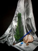 Colored Pencil Still Life by littlemissysg