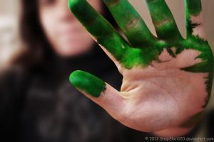 Green Handed by SnapShot120