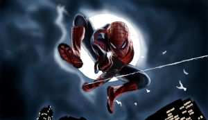 The Amazing Spider Man by slimsassysarah