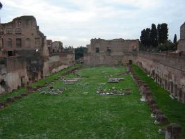 Domitian's Palace by Amor-Fati-Stock