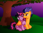 Sunset Love by AleximusPrime