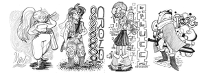 Chrono Trigger Doodles by animatrix1490