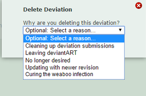 A suggestion for the delete function by CookieJane