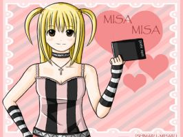 Death Note: Misa Misa by ishimaru-miharu