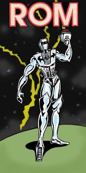 ROM SPACE KNIGHT by spaceplant