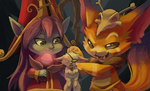 Face-Off Contest: Gnar's Revenge by ChocoChaoFun