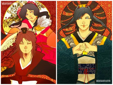 MAGI Chinese New Year Cards by mbakmaria