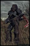 Fallout 3: Enclave Hellfire Power Armor by JammyMachiko