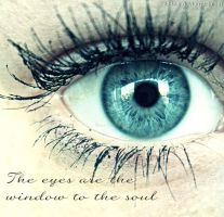 Eyes are the window to the soul by TiiaBear