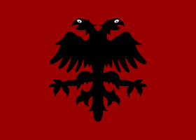 Flag of the Mirdita Republic by ShitAllOverHumanity