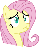 Stunned Fluttershy by jessicat0