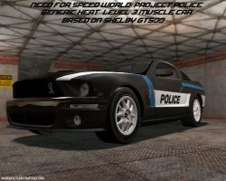 NFS World and GMod: Heat Level 3 Police Car by MarineACU