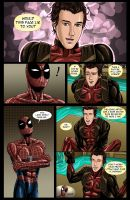 Spideypool Comic 'Never Say Never' Page 8 by jijikero