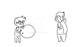 trow the ball (animation) by sidca
