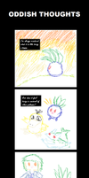 Oddish Thoughts by I-I-shadow