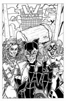 Gotham City Gals by MichaelOdomArt