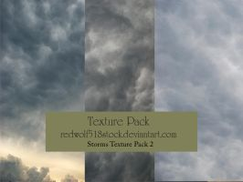 Stormy Sky Texture Pack 2 by redwolf518stock
