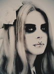 Special Edit: Lana Del Rey VooDoo Doll 1 by blackmasque99