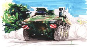 Armored vehicles by A-BB