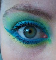Blue n Green Eye by ashy-stock