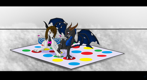 A Game of Color- Lucy and Nick by vdragoness
