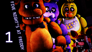 Five night's at Freddy's 1 by shadow-F1end