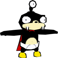 Nibbler (Futurama) Model by CRASHARKI