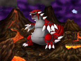 Groudon by Lintufriikki