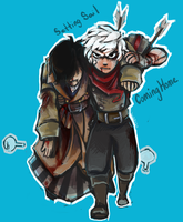 Bastion- Setting Sail, Coming Home -Minor Spoilers by Kirrw