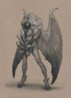 Mothman by Mavros-Thanatos