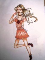 Copic Marker try... .-.FAAIL BD by IvyCage