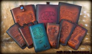 Celtic Phone and Tablet Cases by Half-Goat