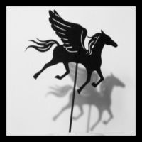 Shadow Puppet, Pegasus by PaperTales